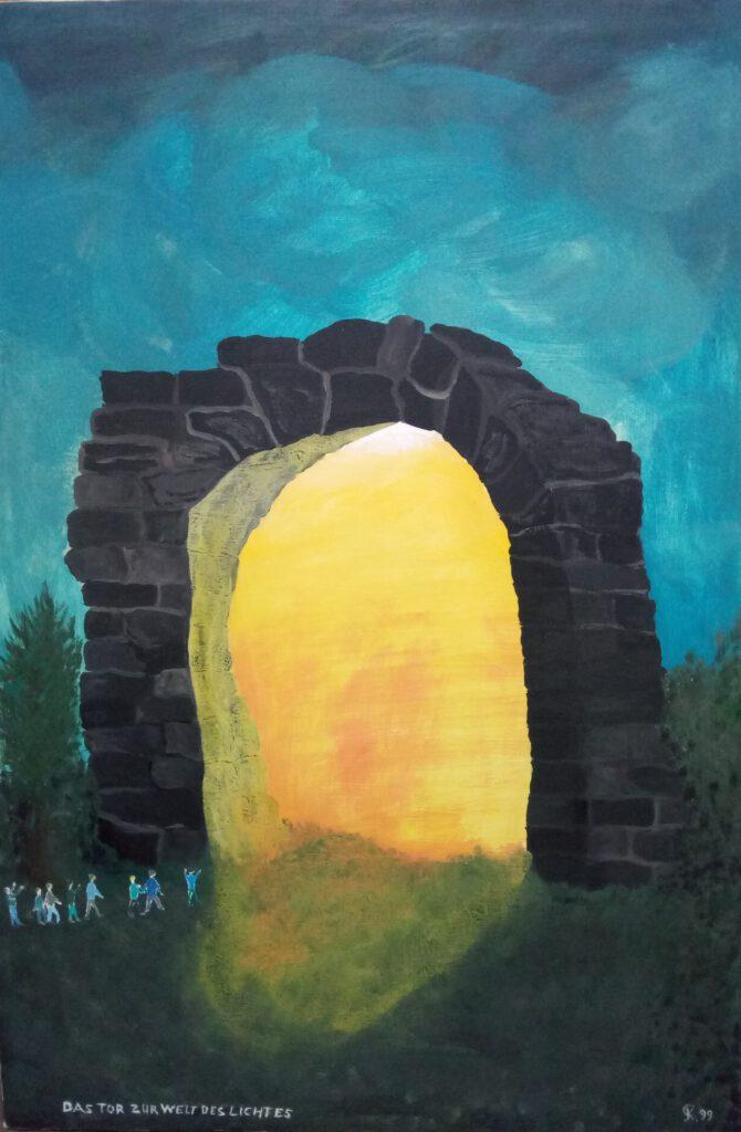 Das Tor zur Welt des Lichtes, Peter Kienert